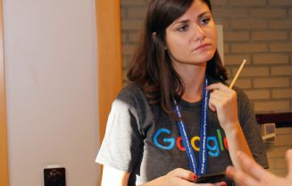 Google representative at womENcourage 2016.