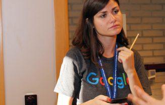 Google representative at womENcourage 2016.